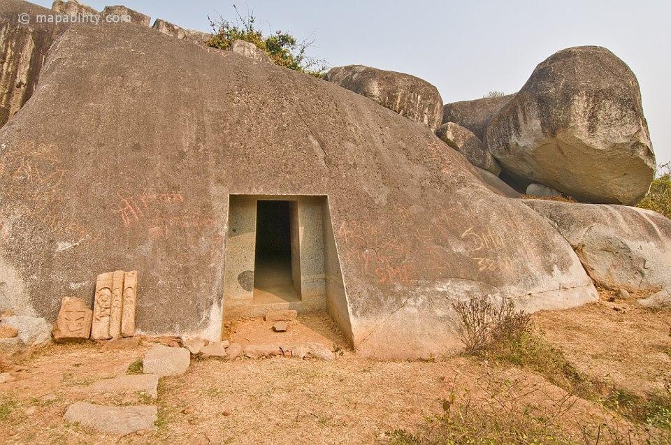 cave de vapiyaka en inde3