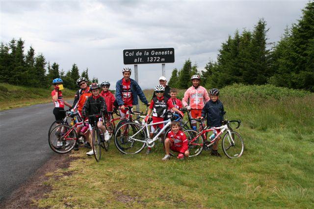 Encadrement école de cyclisme club